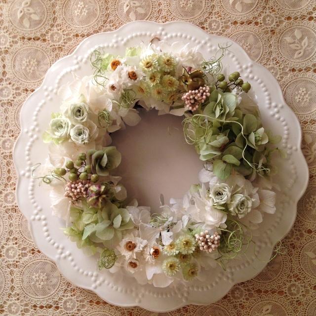 ケントビューティーの花畑wreath