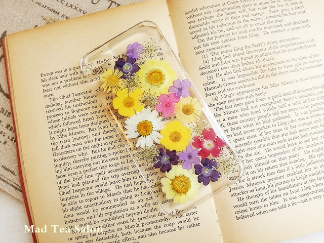 黄色の花束iphone5.5sカバー