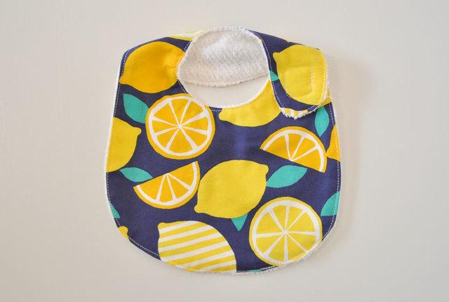 レモン柄のふんわりスタイ