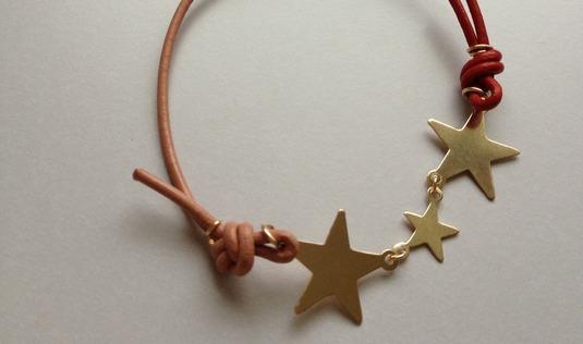 bi-color bracelet