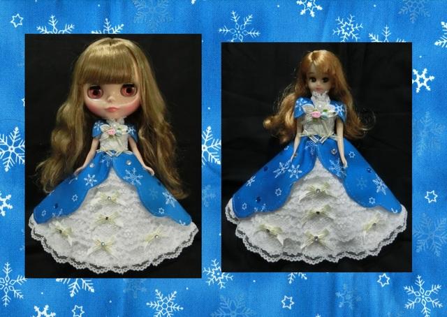 ブライス&りかちゃん 雪の華のドレス...