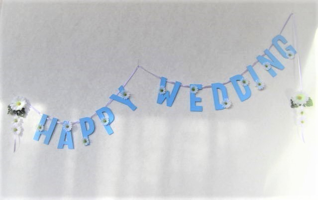 結婚式のためのガーランド