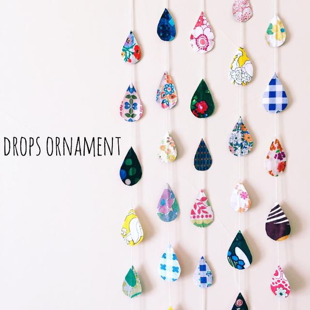 Drops ornament *カラフルさん*(しずく...