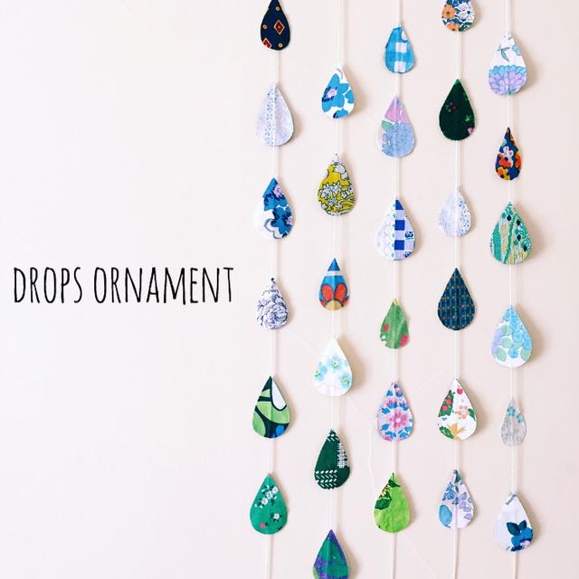 Drops ornament *ひんやりさん*(しずく...