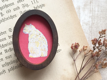 【送料無料】Picture Frame Brooch(TORA)