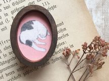 【送料無料】Picture Frame Brooch(SLEEP)