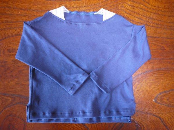 着心地の良いボートネックのTシャツ 1...