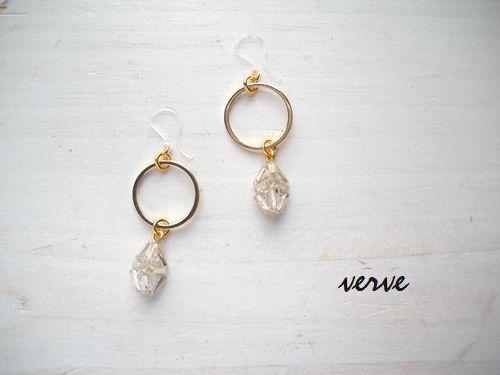 <再販>himmeli pierced earrings M (樹...