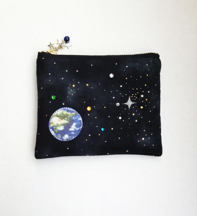 送料無料!夜空と星と地球のティッシュ...