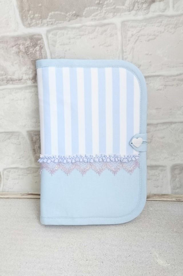 BLUE×BLUE・母子手帳ケース