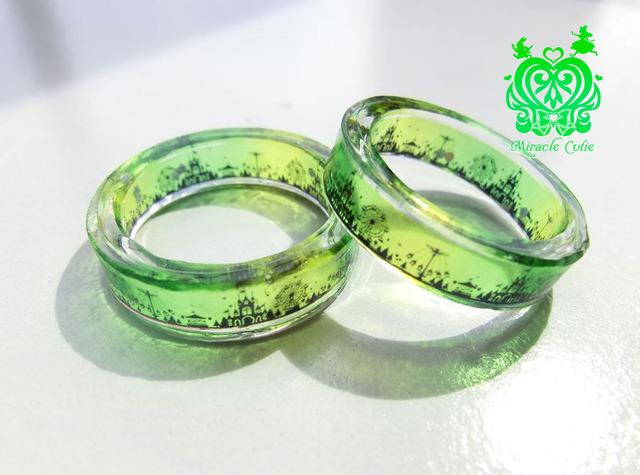 (生産終了)スリムタイプ なついろ遊園地の指輪(13号)