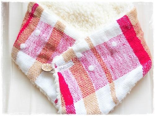 手織りネックウオーマー