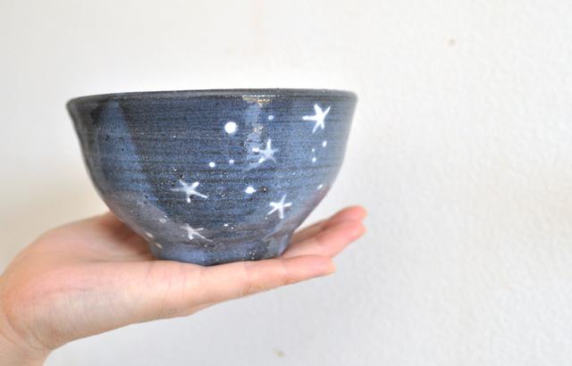 星の…「たっぷりご飯茶碗」 2017