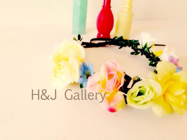 花冠 カラフルフラワー