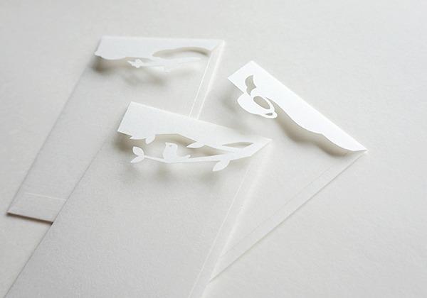 ポチポチ袋(白)