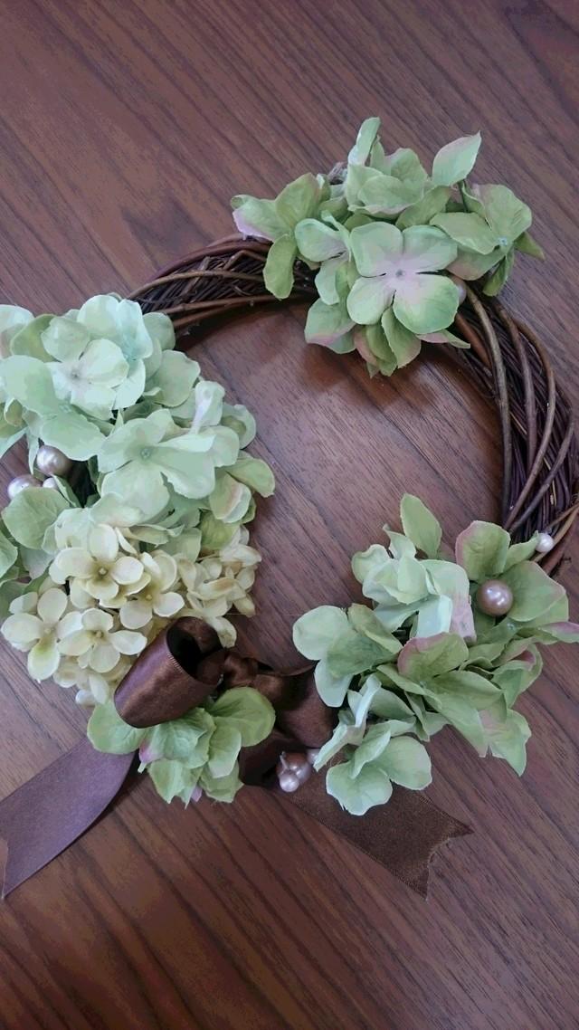 紫陽花シックリース