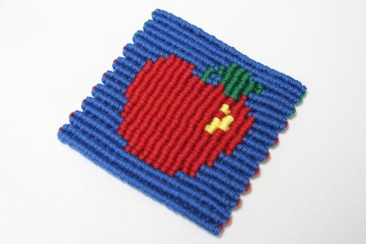 りんご コースター