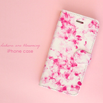 iPhone 手帳型スマホケース 【 Sakura are blossoming. 】
