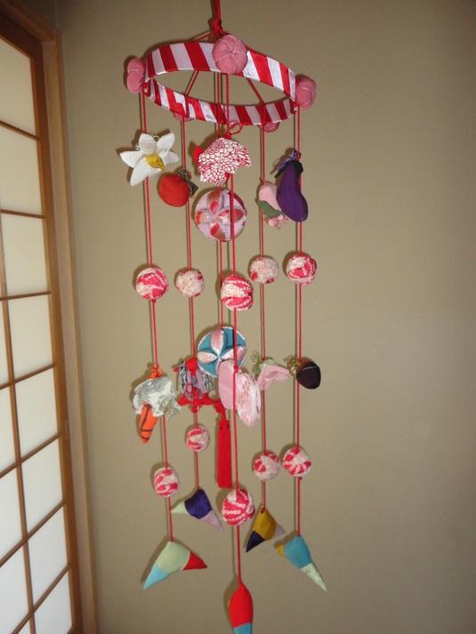 つるし雛  紐6本 (竹)