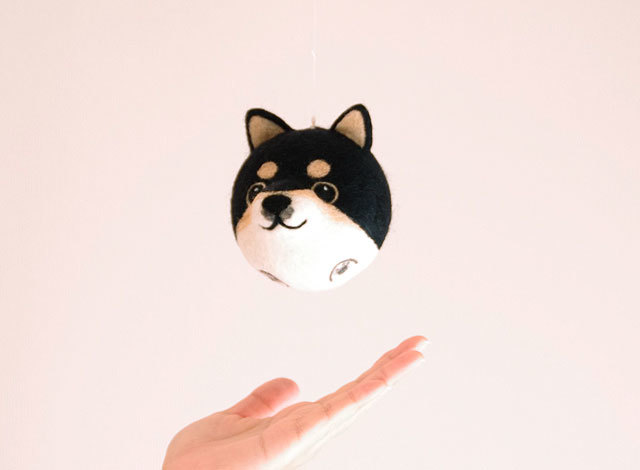 Shiba ball -黒柴-