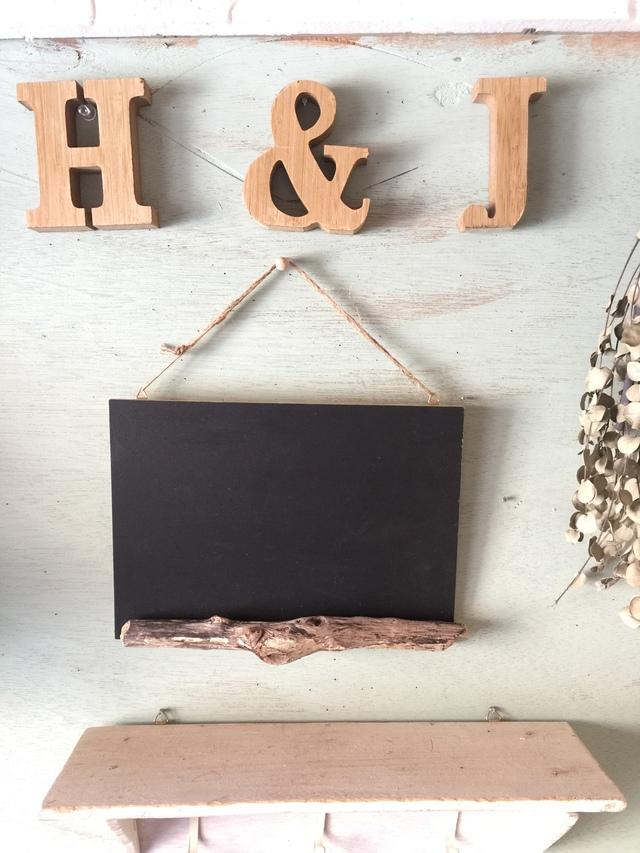 流木の黒板  A