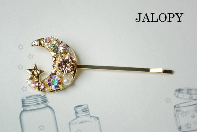 宝石星のヘアピン-はちみつムーン-