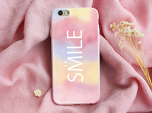 smile colorful アイフォーン ケース   iphone6 iphone6plus iphone7 iphone7plus