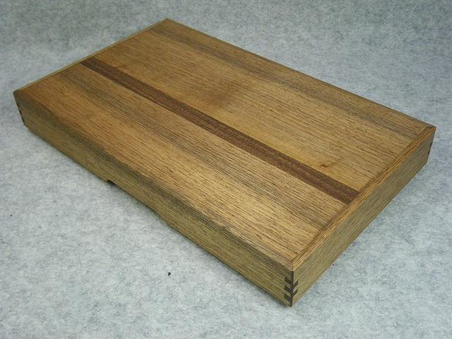 品番1423硯箱被蓋クルミ