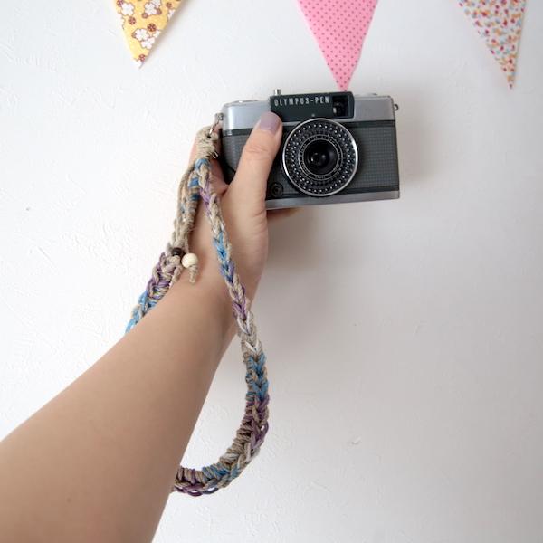 限定色ヘンプハンドカメラストラップ#13