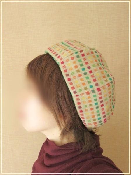 square×dot* ほっこりベレー帽子