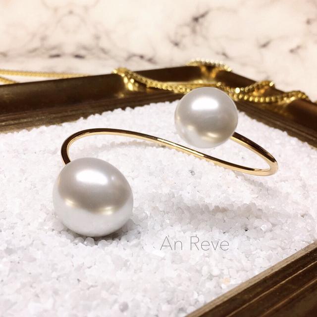 ◇ pearl bangle 2 ◇