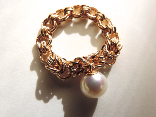 『 Mermaid line ( softness ) 』Ring b...