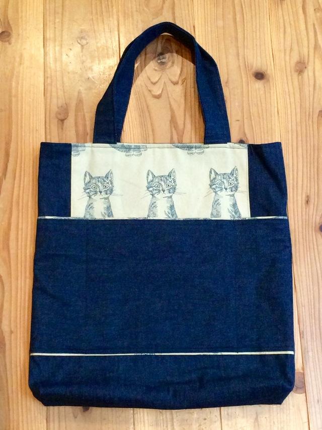 猫トートバック by uya-兎屋