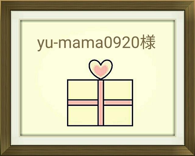 【 yu-mama0920様 オーダー 】
