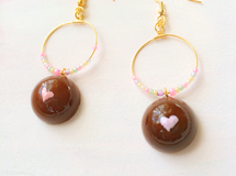 girly chocolateピアス