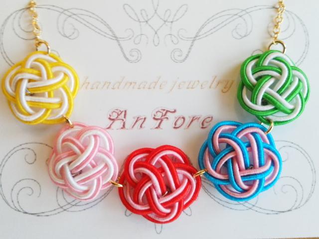 カラーチョイス♪ ◇咲彩◇水引ネックレス
