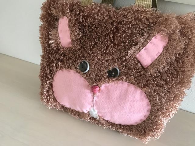 ふわふわボアのウサギさんバッグ〈限定2...