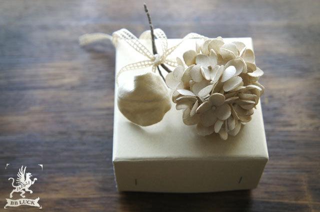 corsage【 布花コサージュ hydrangea *...