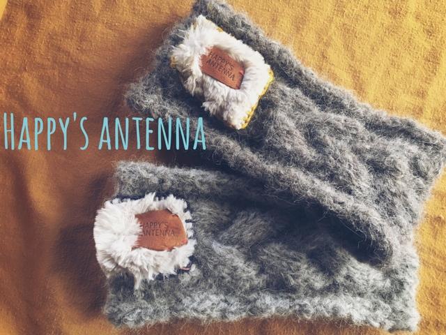 手編み ヘアバンド