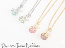 送料無料!! PrincessTiara♡Necklace