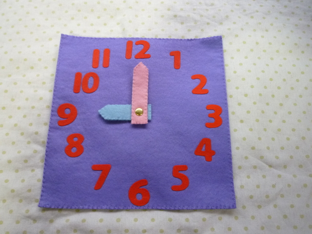 <再販>時計(紫)