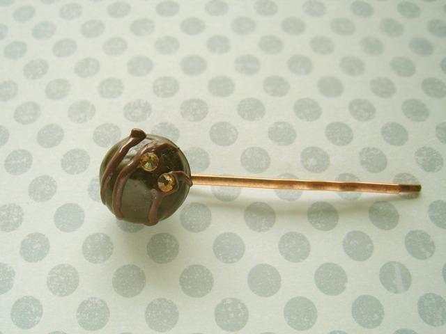 チョコレートヘアピン1919