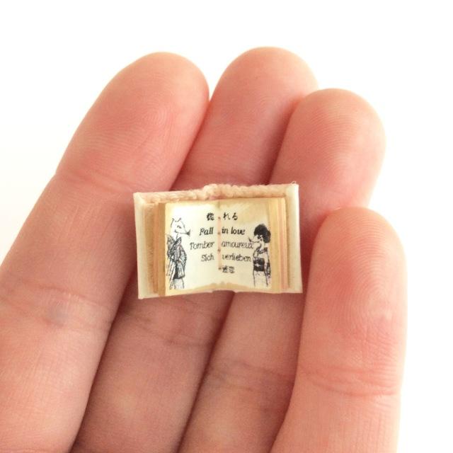 極小豆本「恋の病」
