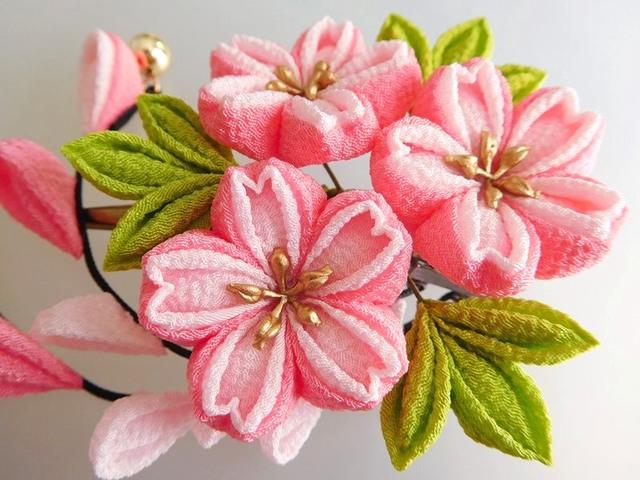 薄もも色×薄さくら色 桜のくちばしクリ...