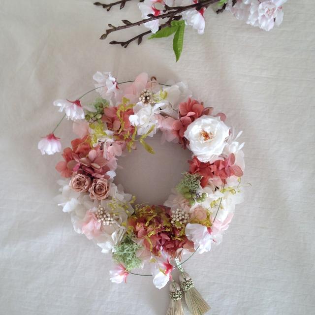wreath「サクラ サク」