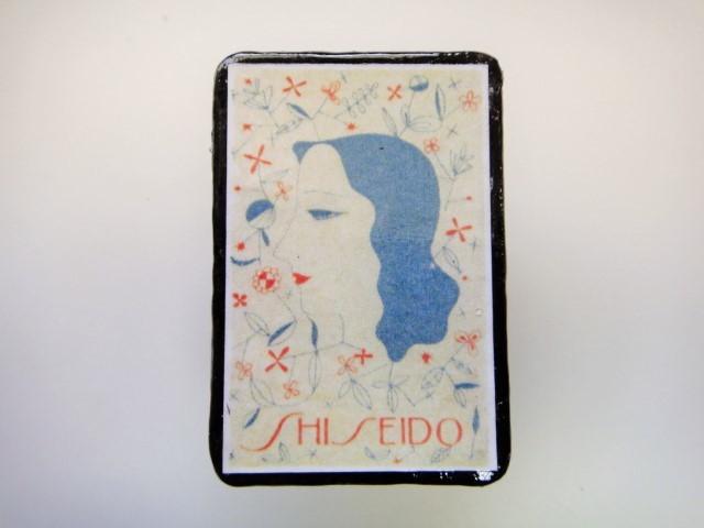 資生堂 マッチラベルブローチ2266