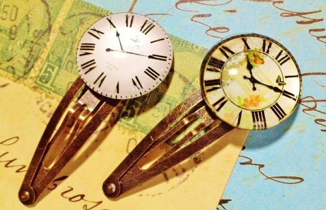 クラシカル時計のヘアピン