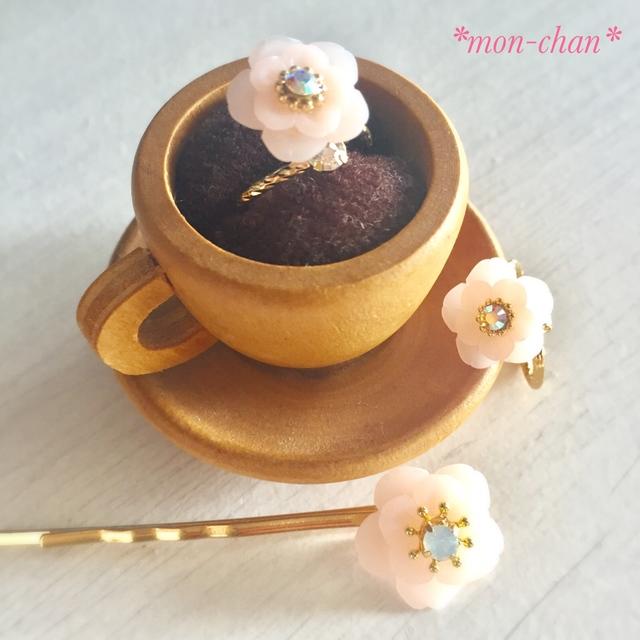 八重桜のヘアピン
