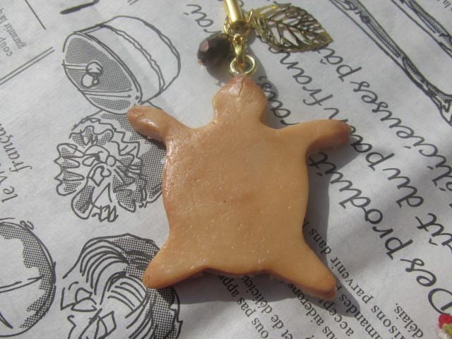 ホヌ・クッキーのストラップ スイーツデコ