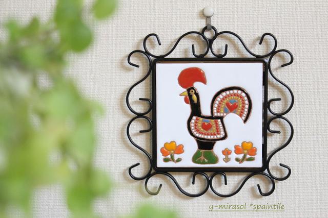 幸せをよぶポルトガルの雄鶏ガロのタイ...